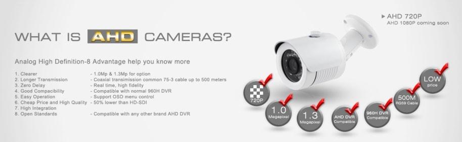 AHD, analógové FullHD kamery