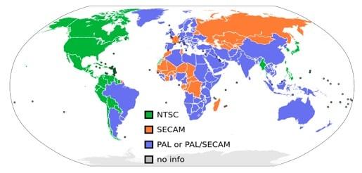Analógové štandardy PAL, NTSC, SECAM