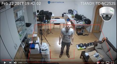 Inteligencia v kamerových systémoch (VCA funkcie)